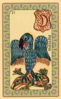 interpretation des cartes de  l oracle de belline : l aigle et le crapaud