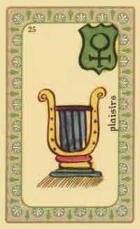 interpretation des crates de l oracle de belline :  la lyre