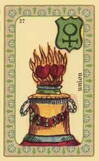 interpretation des crates de l oracle de belline :  l autel