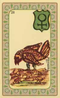 interpretation des crates de l oracle de belline :  le pelican