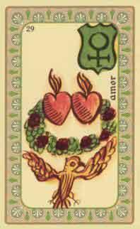 interpretation des crates de l oracle de belline :  les deux coeurs