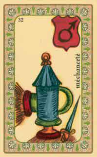 interpretation des crates de l oracle de belline : la lanterne