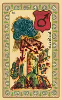 interpretation des crates de l oracle de belline :  la tour foudroyée