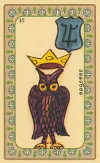cartes de l oracle de belline :  la couette