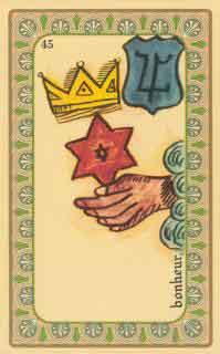 cartes de l oracle de belline :  l'étoile des mages