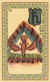 interpretation des carte de l'oracle de belline : la colombe