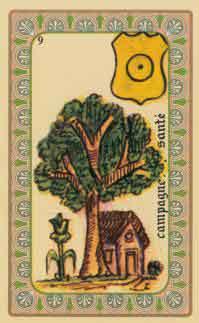 carte de belline interpretation : le jardin