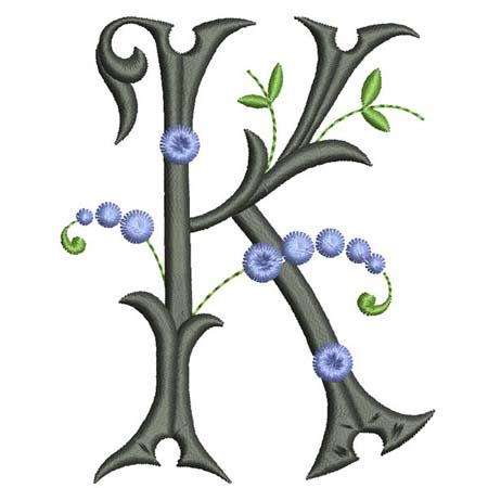 encromancie interprétation lettre  k