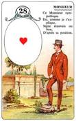 signification melle lenormand carte 28