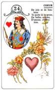 signification melle lenormand carte 24