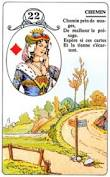 signification melle lenormand carte 22
