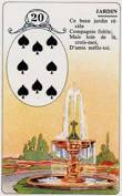 signification melle lenormand carte 20