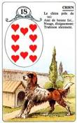 signification melle lenormand carte 18