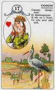 signification melle lenormand carte 17
