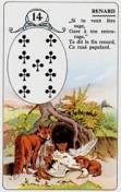 signification melle lenormand carte 14