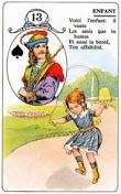 signification melle lenormand carte 13