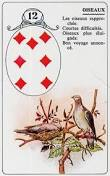 signification melle lenormand carte 12