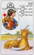 signification melle lenormand carte 10