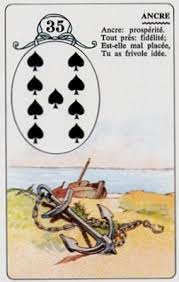 signification melle lenormand carte 35