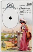 signification melle lenormand carte 29