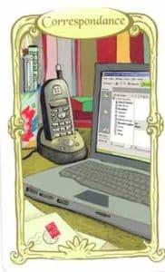 racle des miroirs carte correspondance
