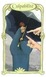 oracle des miroirs carte culpabilite