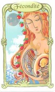 oracle des miroirs carte fecondite