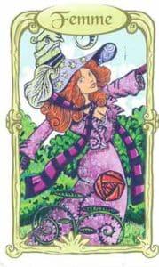 oracle des miroirs carte femme