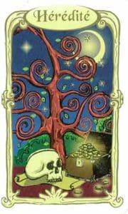 oracle des miroirs carte heredite