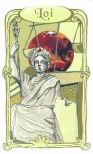 oracle des miroirs carte loi