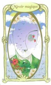 oracle des miroirs carte miroir magique