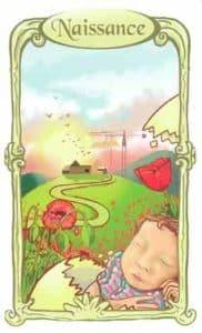 oracle des miroirs carte naissance