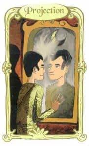 oracle des miroirs carte projection