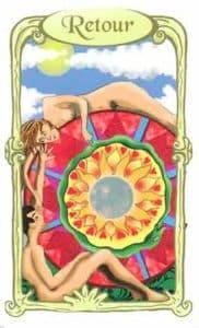 oracle des miroirs carte retour