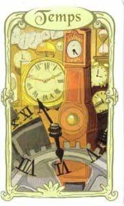 oracle des miroirs carte temps